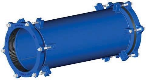08.500 Муфта для труб из ПВХ, стали, чугуна, фиброцемента и др.